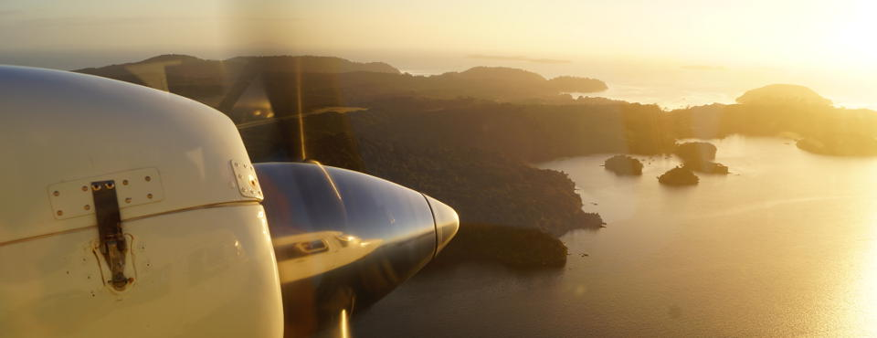 Fly in to Stewart Island